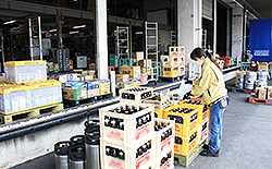 出荷酒類の検品