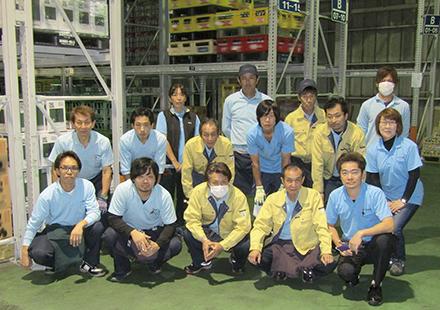 全九州を中心に全国へ総合物流サポートします。