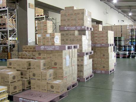 大量入荷のドライ食品